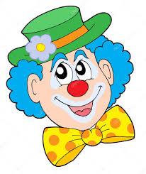 Výsledek obrázku pro kreslený obrázek klaun